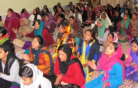 kvinnemøte i Jammu